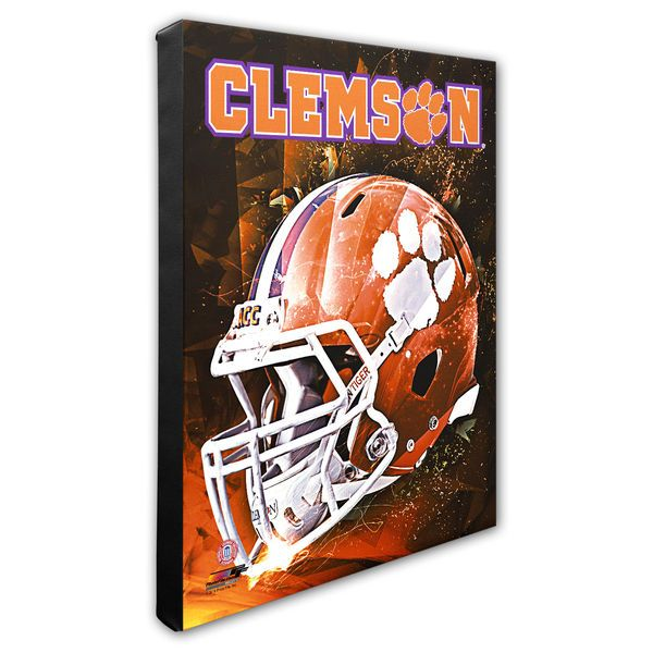 "Clemson Tigers 16"" x 20"" Helmet Motion Blast Photo - $79.99"