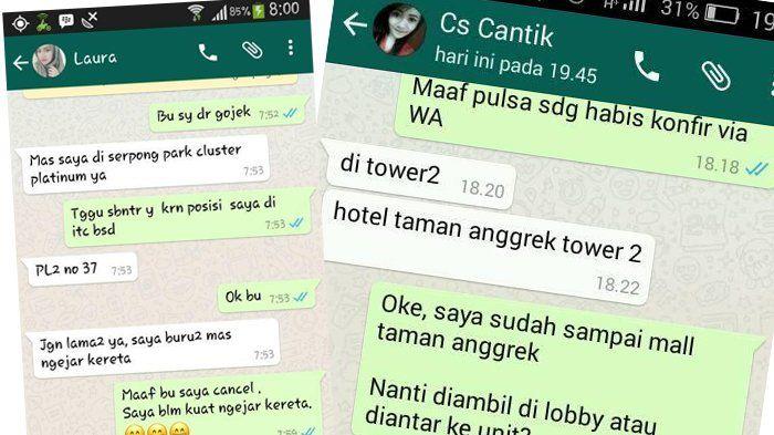 Kocak Parah, 7 Chating Lucu Driver Gojek dan Pelanggan, Ada yang Namanya Osas
