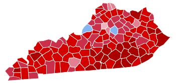 This pin is in relations to a previous pin. This image depicts the votes of the 2016 elections. Counties supporting trump are red whereas counties supporting Clinton are in blue. To me personally, this picture exemplifies the level of embracement that Kentucky has for racial diversity.