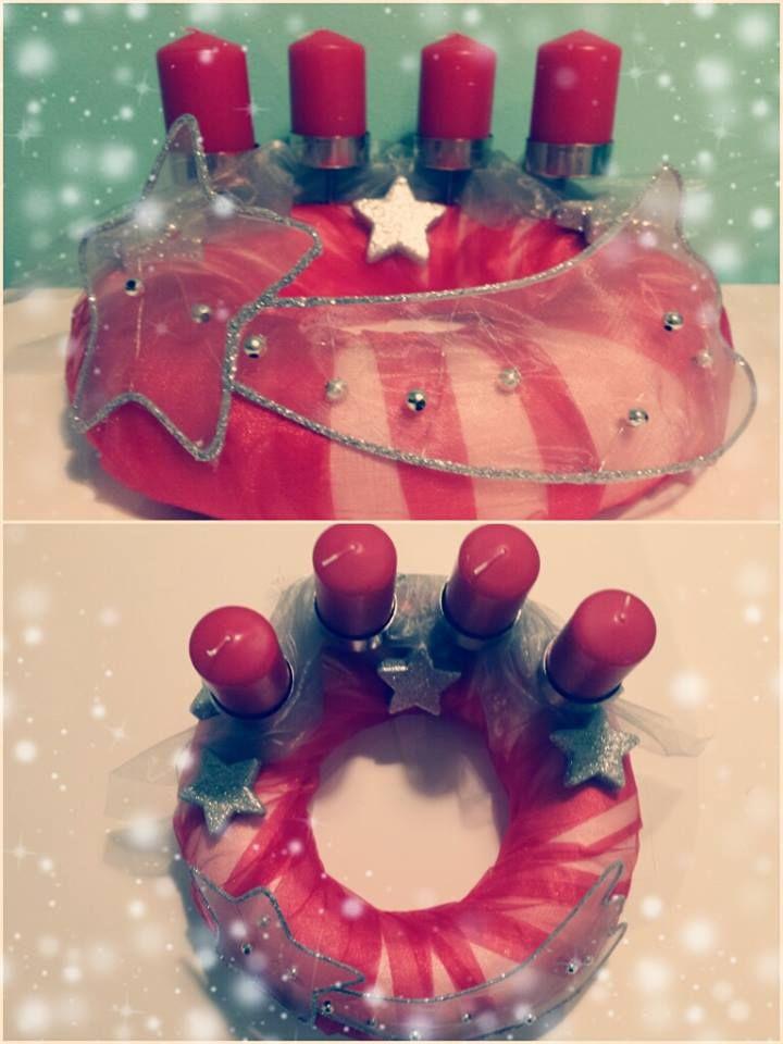 "Adventní věnec ""Kometa"" (Advent wreath ""Comet"")"