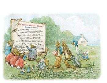 #Beatrix #Potter | Desenho originalmente criado para uma campanha de angariação de fundos