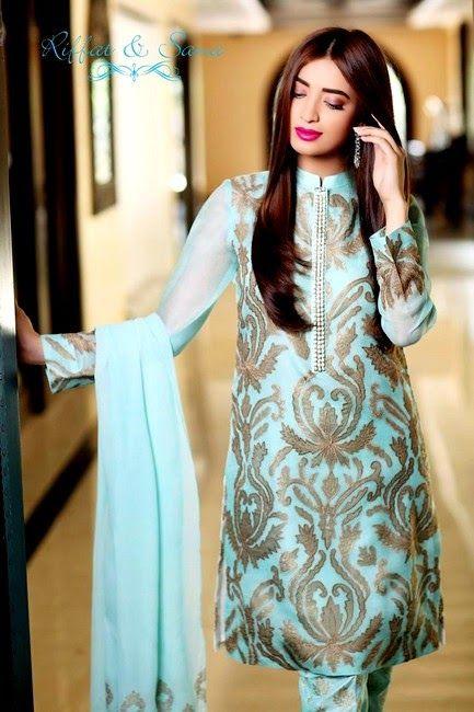 Sana Salman Mid-Summer Dress Collection 2014 by Riffat & Sana (8)