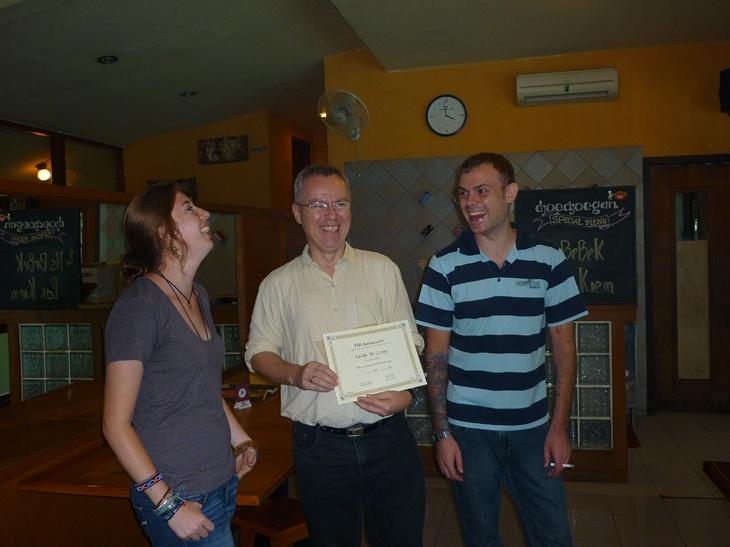 Bwahahahaha  TEFL Indonesia,Get certified and teach English.Teach English and see the world