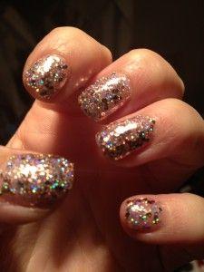 Review: Barry M Rose Quartz Glitter Nail paint