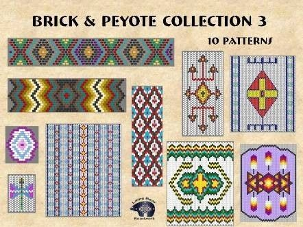 North American Indian Beadwork Patterns by Pamela Stanley-millner
