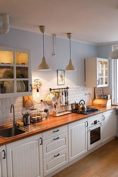 30 Entwürfe perfekt für Ihre kleine Kochfläche #kitchenideas #kitchendecor #kitch …