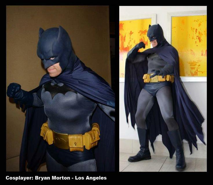 #Batman #cosplay #dccomics Batman cowl by Reevzfx www.reevzfx.com