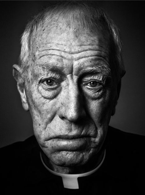 Max von Sydow (1929) - Swedish actor who has also held French citizenship since 2002. Photo by Andy Gotts