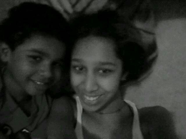 Me and my cousin