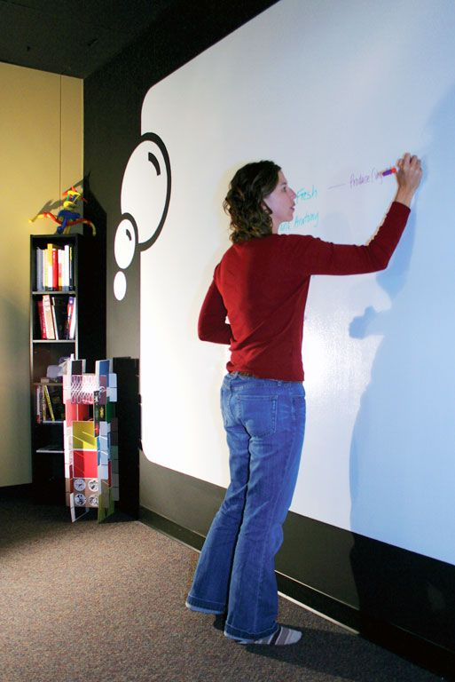 Whiteboard walls  |Pinned from PinTo for iPad|