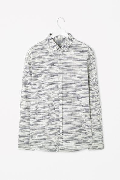 Printed oxford shirt