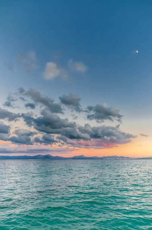 Sunset at Playa de Muro / Mallorca