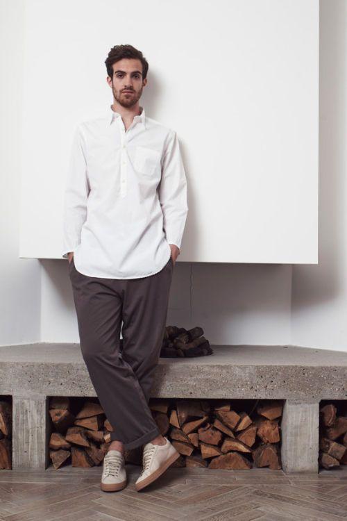 Elegantly Relaxed Menswear : men's loungewear