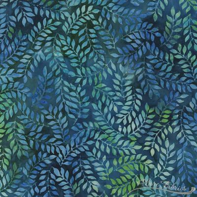 Tropical Nights Bali Batik-Fern Caribbean