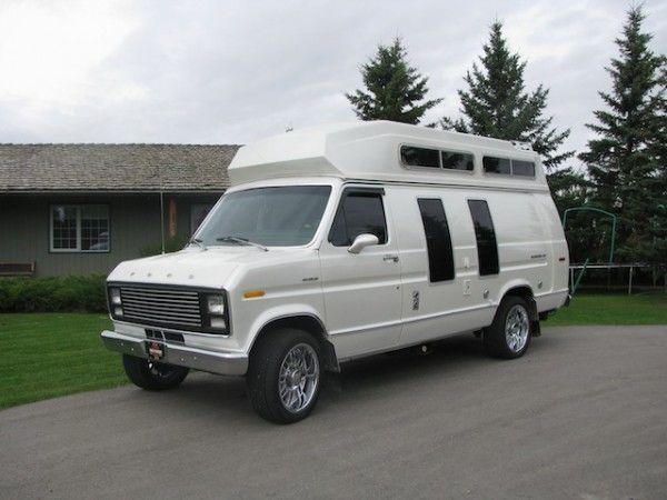 econoline camper van 1979 ford econoline customized camper van for sale vehicles from. Black Bedroom Furniture Sets. Home Design Ideas