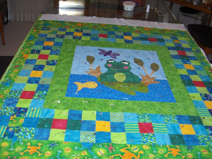 1000 Images About Frog Quilts On Pinterest Free Pattern