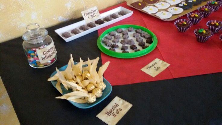 Boccini d'oro e Gelatine tuttigusti + 1 harry potter party