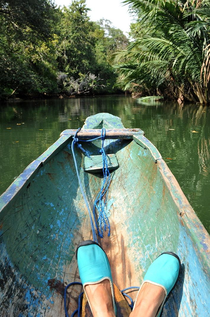 Canoeing @ Cigenter River, Ujung Kulon National Park, West Java, Indonesia