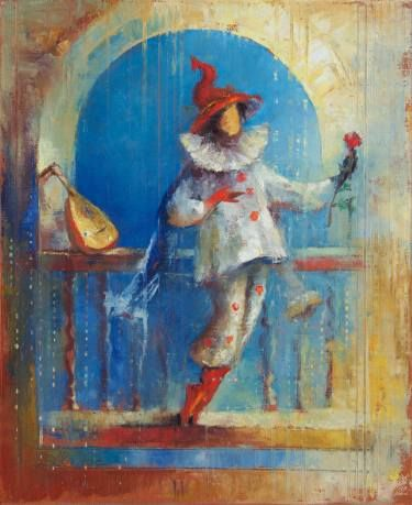 "Saatchi Art Artist Anna Ravliuc; Painting, ""Rendezvous with Voice"" #art"