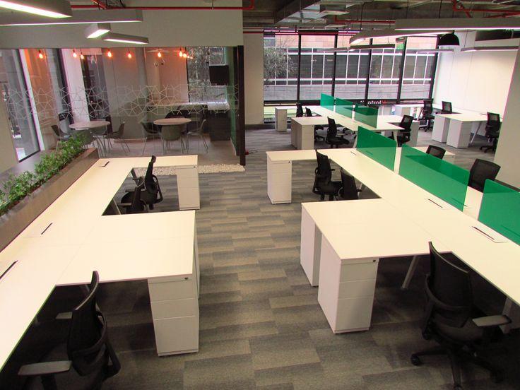 Proyecto ENEL, diseñado por Arquitectura e Interiores, amoblado con la línea EURO de www.famocdepanel.com