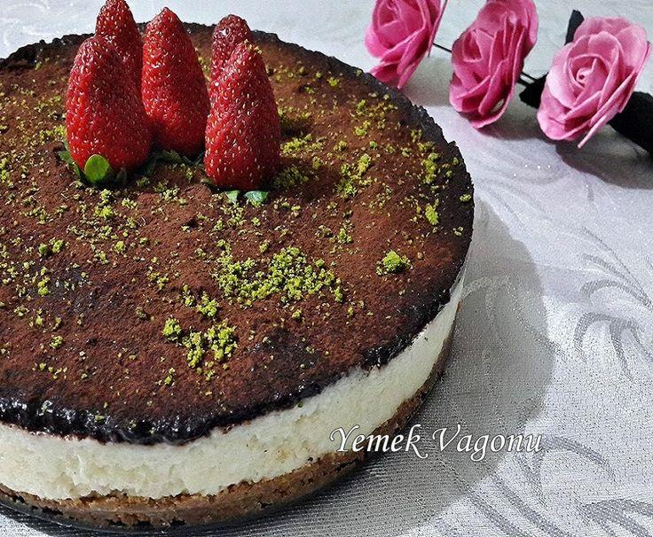 Çikolatalı Pişmeyen Pasta