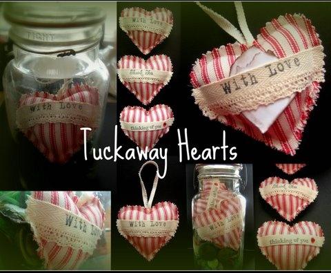 Tuckaway Hearts - paying it forward.
