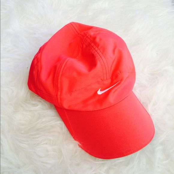 Nike Dri Fit Hat Cap Like new ! Orangish red Nike Accessories Hats