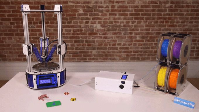 Keep your 3D printer and expand its potential. The Palette lets your 3D printer create an entirely new range of items!