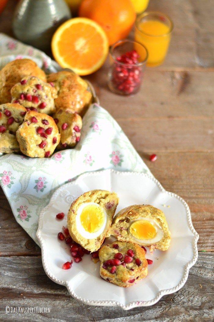 Bacon Ei oder Granatapfel Joghurt-Scones 6-1