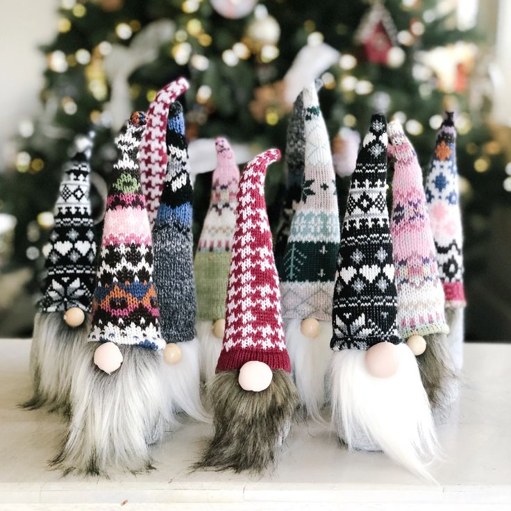 DIY Norwegian Holiday Gnomes in 2020 Gnome tutorial