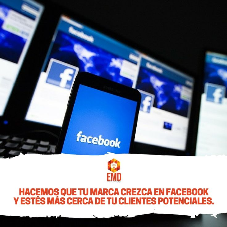 ¿Ya aprovechas los grandes beneficios de Facebook para tu marca? ‪#‎EMD‬ ‪#‎MarketingDigital‬ ‪#‎SocialMedia‬ ‪#‎Facebook‬