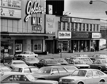The Golden Mile Plaza Eglington Ave East My first job instore Hunts bakery.