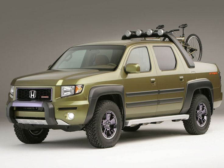 Honda Ridgeline - We're loving this color & all the accessories! www.rickjustice.com