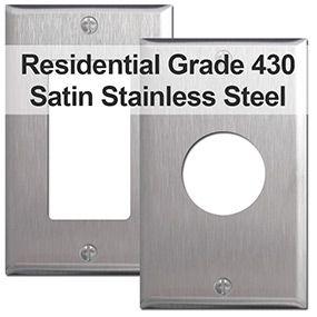 430 Satin Stainless Steel