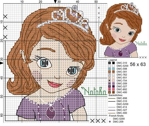 Sofia the first cross stitch - Bing Images