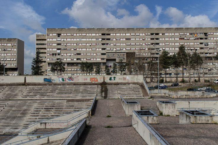 Corviale - Rom Längstes Hochhaus Europas