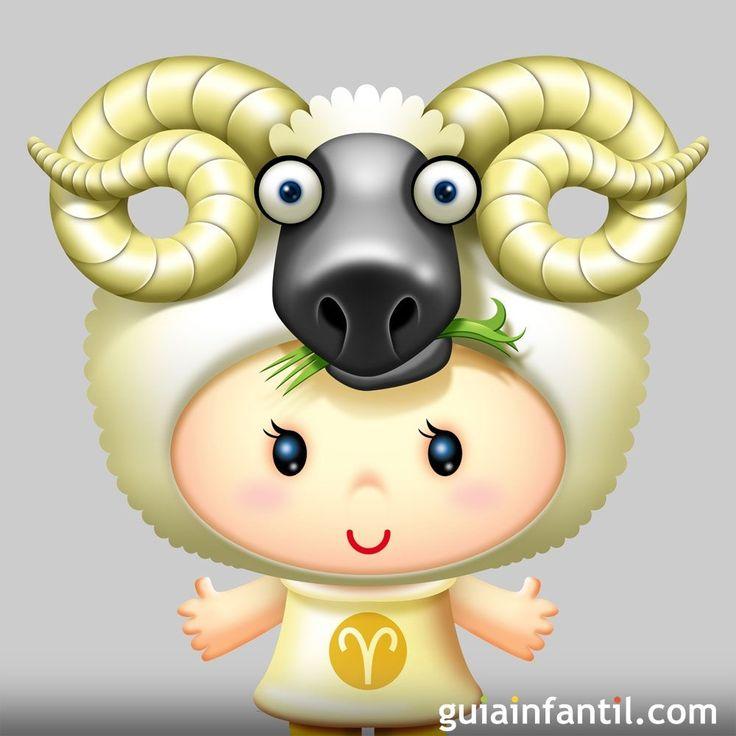 Características de los niños que nacen bajo el signo de Aries.