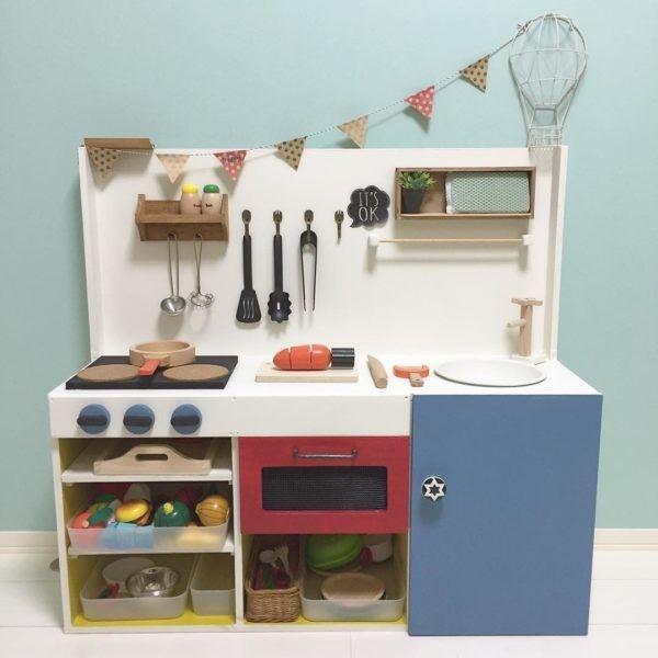 おままごとキッチン おしゃれまとめの人気アイデア Pinterest Haruka1483 手作り おもちゃ キッチン ままごとキッチン 手作り 手作りおもちゃ 3歳