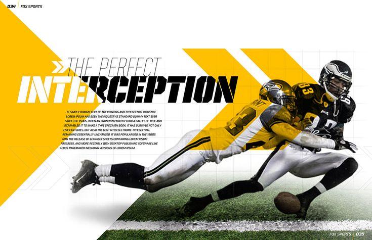 Fox Sports Magazine Spread - Visual Foundry