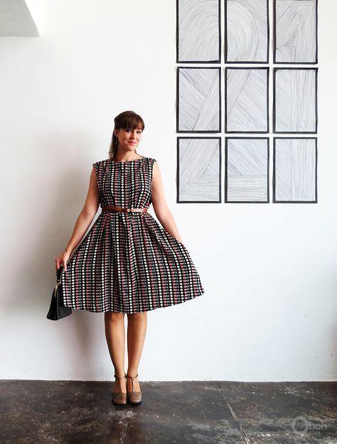DIY Easy 1950s Vintage Style Dress