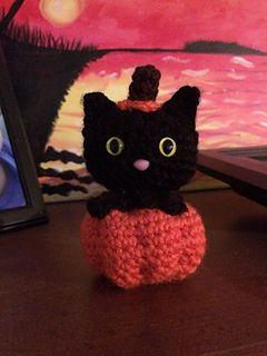 Kết quả hình ảnh cho 12 - Ronnie The Halloween Cat crochet