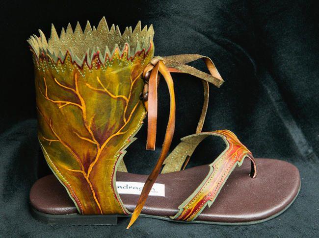 БОХО-обувь по-австралийски. :) - Ярмарка Мастеров - ручная работа, handmade