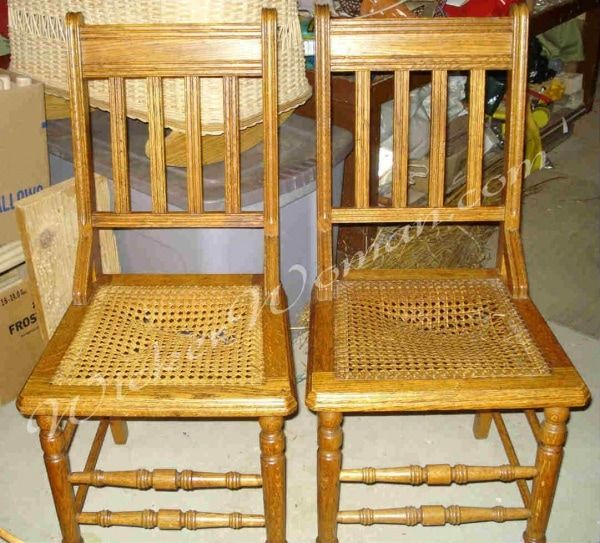 Chair Caning Instructions How To Cane Chairs By Hand In 2020 Cane Chair Oversized Chair Living Room Woven Chair
