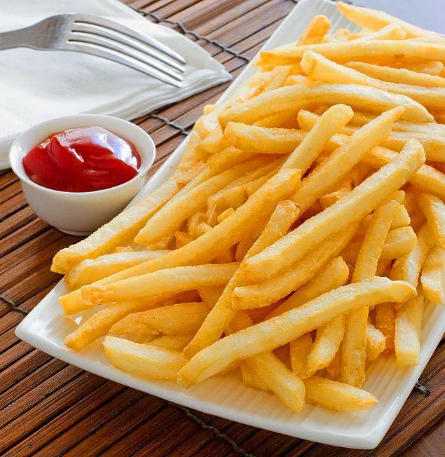 En Çıtır Patates Kızartması