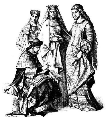 Средневековый костюм немецкого рыцаря