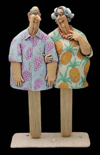 """Mom and Pop Sicle"" -- Stephen Hansen :) (papier mache)"