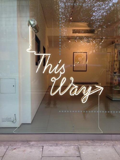 Wayfinding Store Front Design