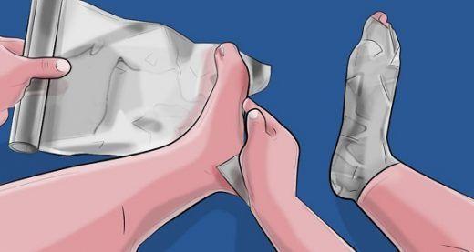 Enveloppez vos pieds dans du papier aluminium, ça remplace 5 médicaments | Santé+ Magazine - Le magazine de la santé naturelle