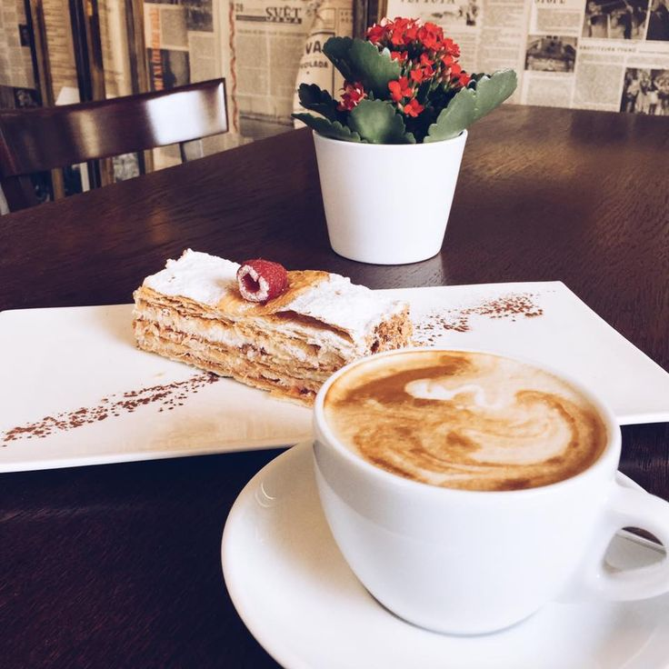 Start your day with coffee and delicious dessert in Caffe Dell' Artista