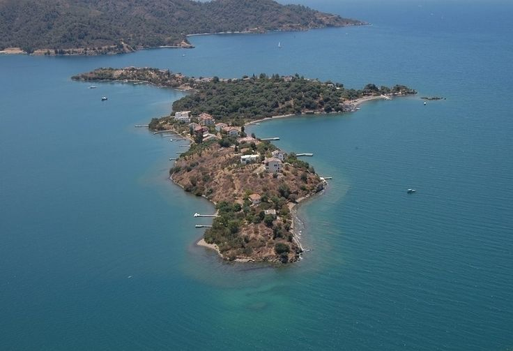 Sovalye Island - the first one of 12 Islands Boat Trip from #Fethiye harbor